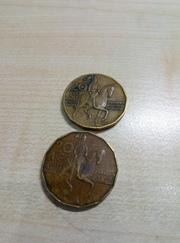 Обмен монет: мои (на фото) на Ваши (если у меня таких нет)